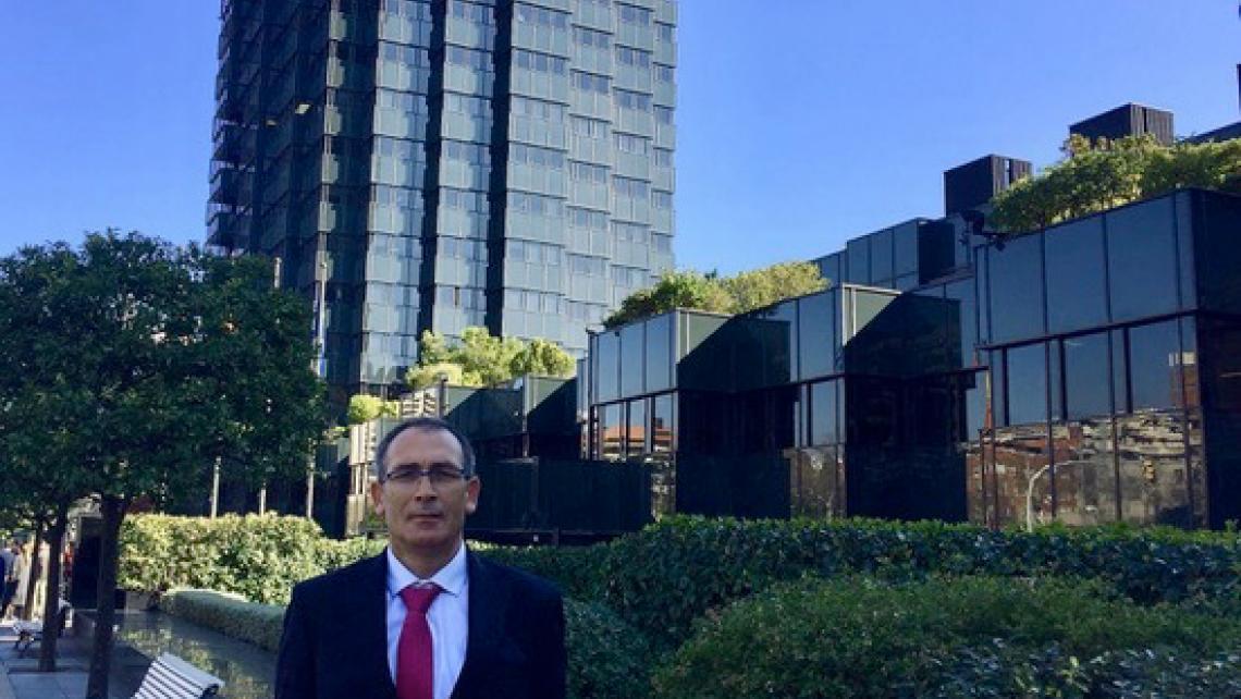 Javier Esguevillas, Secretario General del SECB