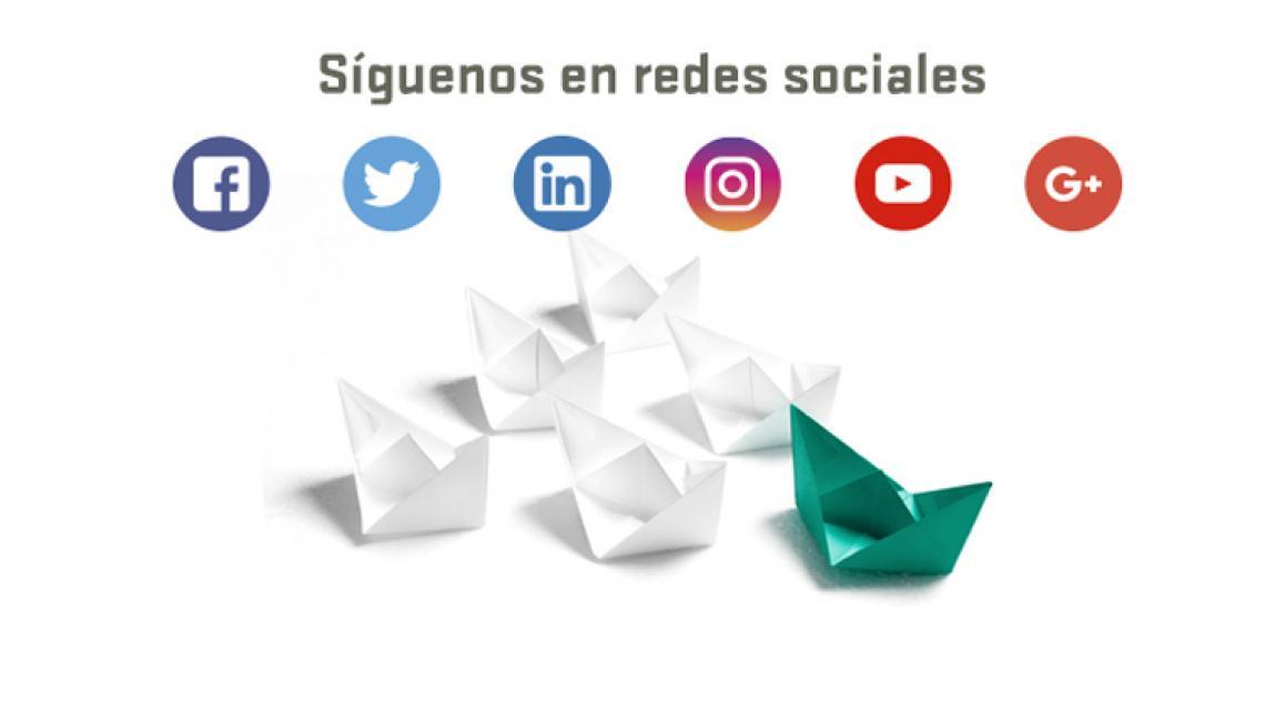 FINE, presente en todas las Redes Sociales