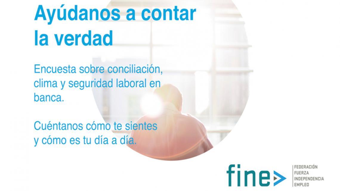 ENCUESTA 'CONCILIACIÓN, CLIMA Y SEGURIDAD LABORAL&#x2019