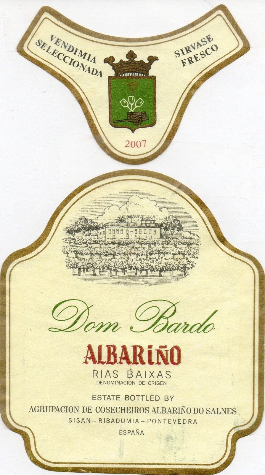 DOM BARDO - Promoción especial vinos Albariño